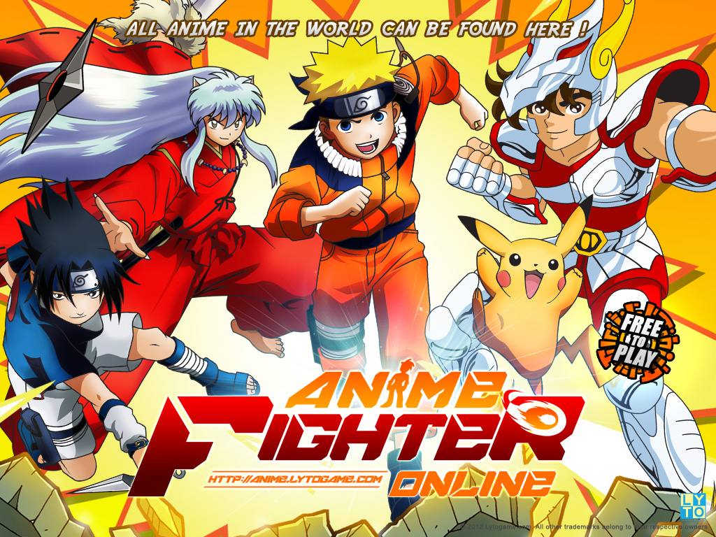 anime fighting games